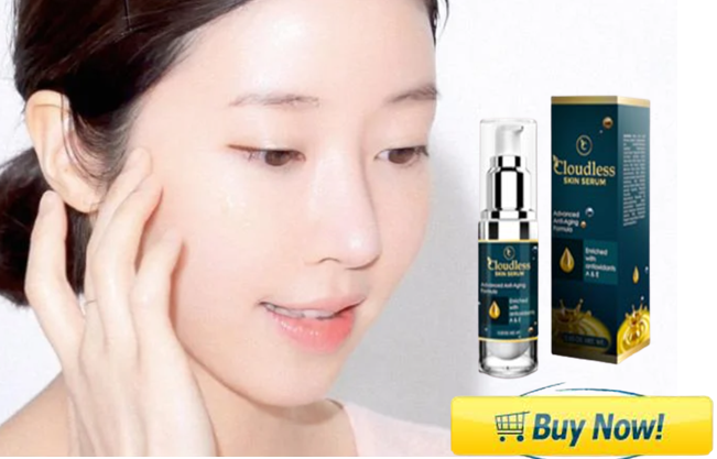 Cloudless Serum makes your skin firm and smooth