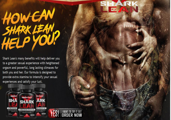 Shark Lean Male Enhancement natural and herbal ingredients