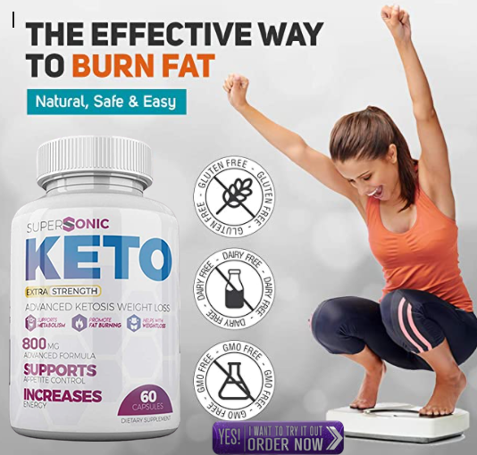 Supersonic Keto Diet weight loss supplement