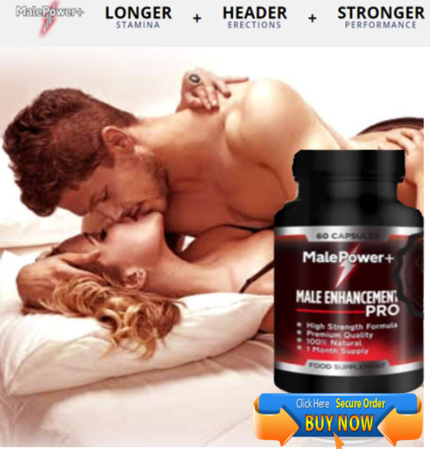 Male Power Plus formula is natural