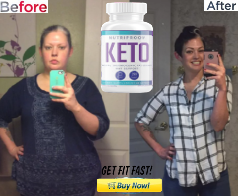 NutriProovKeto formula Burn all extra fat of the body