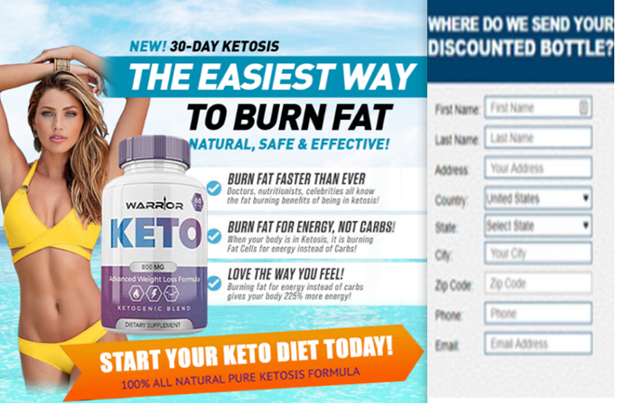 Warrior Keto 100% natural