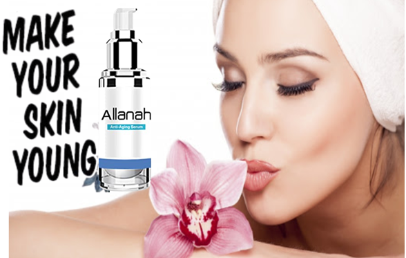Allanah Serum skin care formula