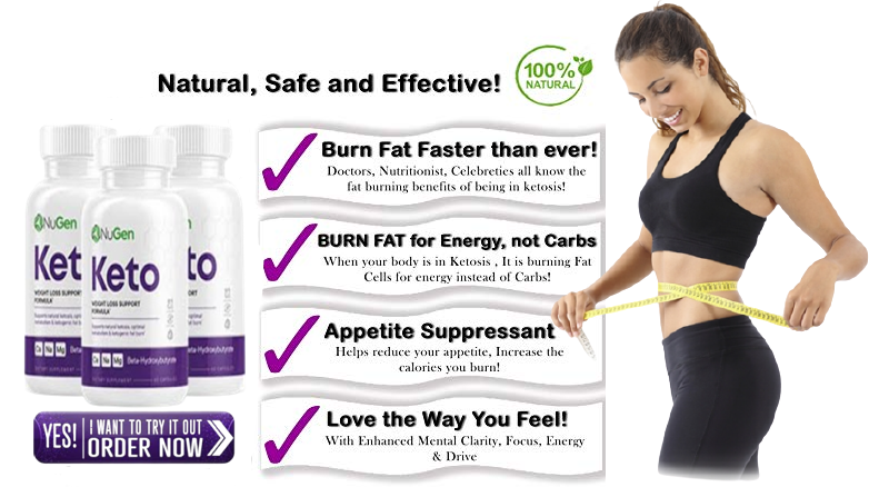 NuGen Keto pills Easy to use