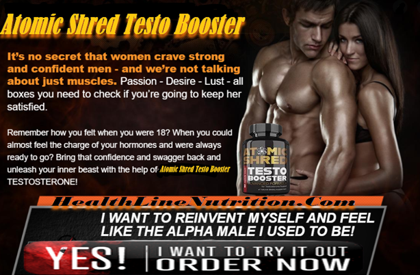 Atomic Shred Testo Booster Review