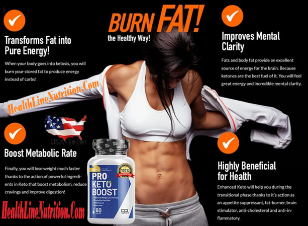 Pro Keto Boost Advanced Diet Formula
